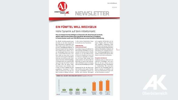 Arbeitsklima Index 2019 Nr. 3 © AK Oberösterreich