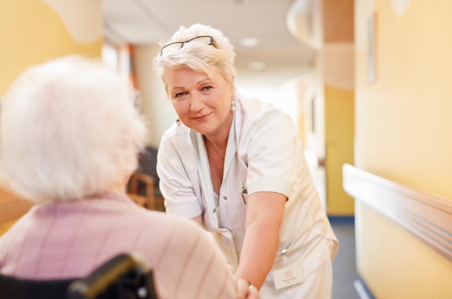 Pflege im Krankenhaus © Arbeiterkammer Oberösterreich, F. Stöllinger