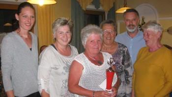 2. Platz: Damenmannschaft von BAPH Kleinzell II  © AK Rohrbach
