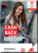 Broschüre Cash back © AKOÖ, -