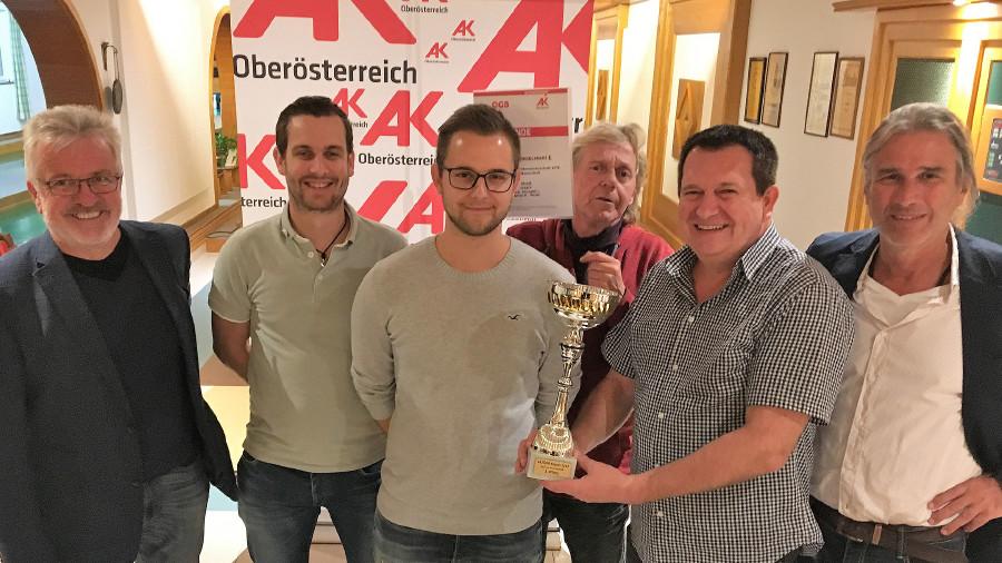Kegeln Eferding: Siegerteam Herren © P. Schoberleitner, ÖGB