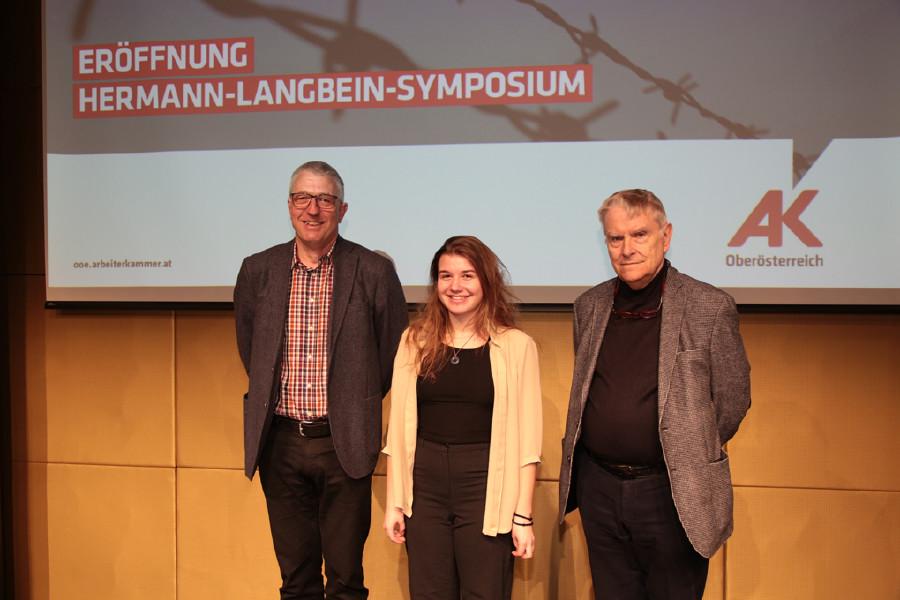 Eröffnung Hermann-Langbein-Symposium, 08.04.2019 © Dolzer Florian, AK Oberösterreich