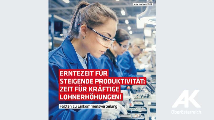 Broschüre: Fakten zur Einkommensverteilung 2019 © AK Oberösterreich