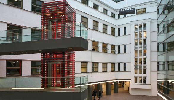 AK Linz Innenhof © -, Arbeiterkammer Oberösterreich