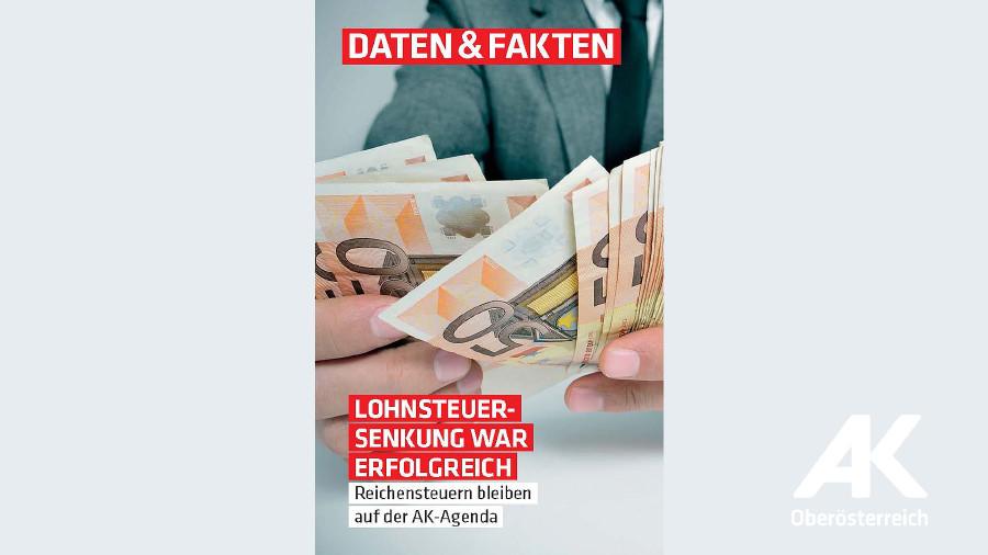 Lohnsteuersenkung war erfolgreich © -, Arbeiterkammer Oberösterreich