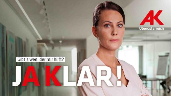 Die AK: macht dich stark © Arbeiterkammer Oberösterreich