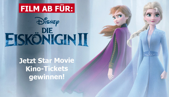Film ab: Die Eiskönigin 2 © -, star movie | akooe