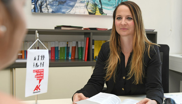 AK-Bezirksstellenleiterin von Grieskirchen - Mag.Tanja Feßl © Wolfgang Spitzbart, AK OÖ