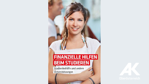 Broschüre: Finanzielle Hilfen beim Studieren © -, Arbeiterkammer Oberösterreich