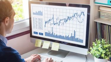 Mann analysiert die Unternehmensbilanz am Computer © NicoElNino, stock.adobe.com
