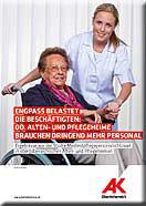 Pflegepersonal: Engpass belastet die Beschäftigten © -, AK Oberösterreich