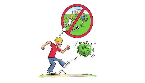 Fußball-Verbot © Jugendnetzwerke, Arbeiterkammer Oberösterreich
