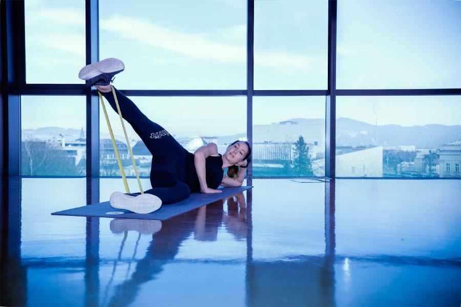 Fitnessübung 6 © Ünal Uzunkaya, AKOÖ