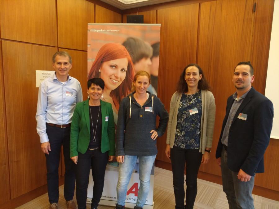 Der Jugendnetzwerk-Dialog in Perg setzte sich mit der Stärkung ausgrenzungsgefährdeter Jugendlicher auseinander © AK Oberösterreich