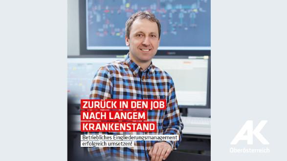 Broschüre: Zurück in den Job nach langem Krankenstand © -, Arbeiterkammer Oberösterreich