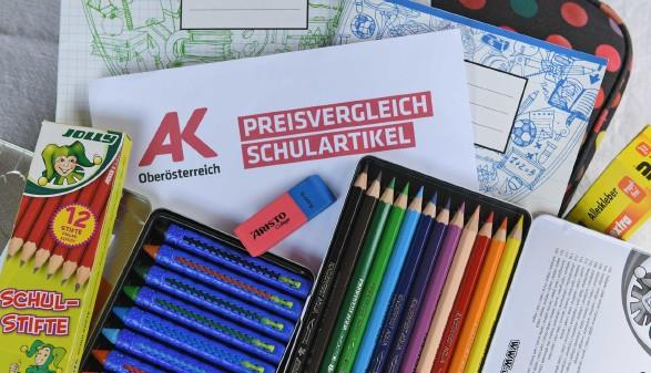 Preisvergleich Schulartikel © Wolfgang Spitzbart, AK OÖ