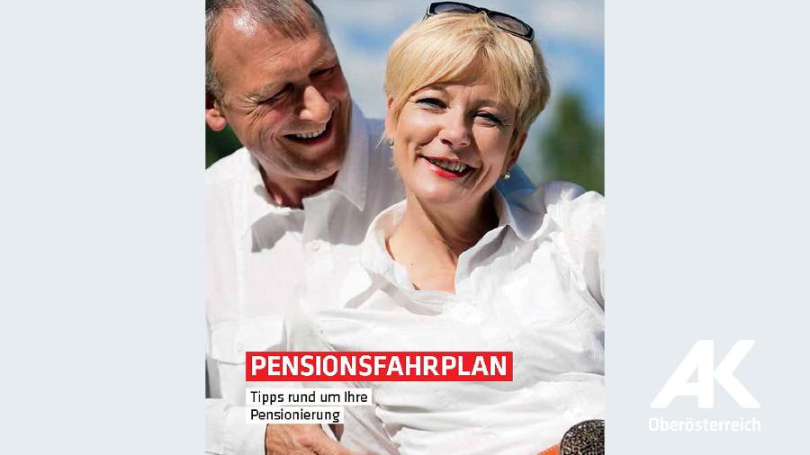 Pensionsfahrplan © -, Arbeiterkammer Oberösterreich