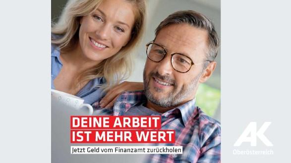 Broschüre: Deine Arbeit ist mehr wert © Arbeiterkammer Oberösterreich
