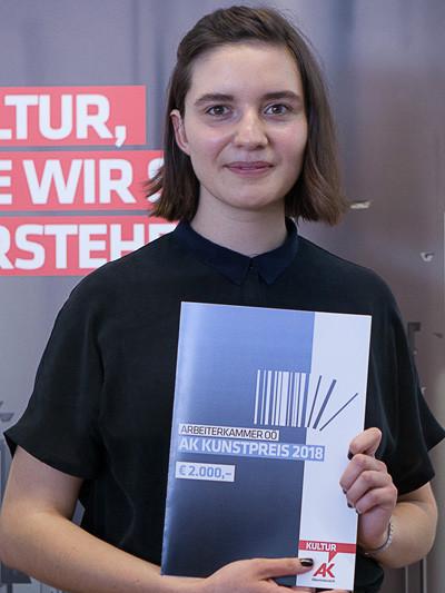 Kunstpreisträgerin Judith Gattermayr © Micha Gerersdorfer, -