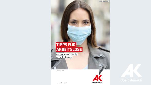 Frau mit Maske © Arbeiterkammer Oberösterreich, Arbeiterkammer Oberösterreich