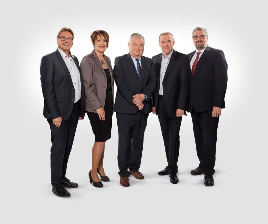 Das neue Präsidium der AK Oberösterreich © Stöllinger Florian, AK Oberösterreich