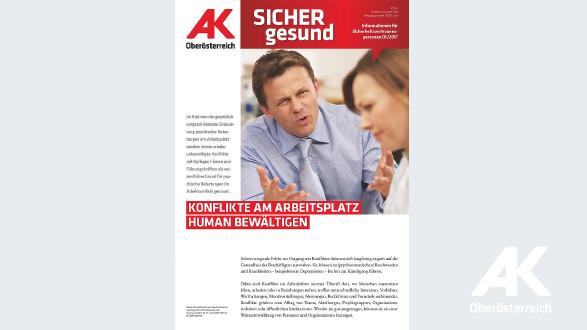 Wandzeitung Sicher Gesund 2017 - Nr. 1 © -, Arbeiterkammer Oberösterreich