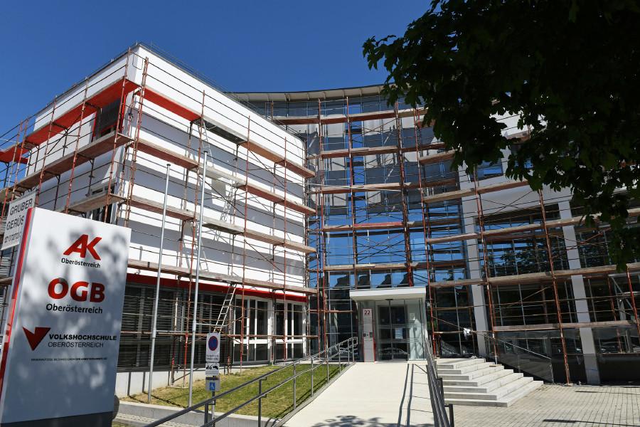 Neubau der AK-Bezirksstelle Grieskirchen © Wolfgang Spitzbart, AK OÖ