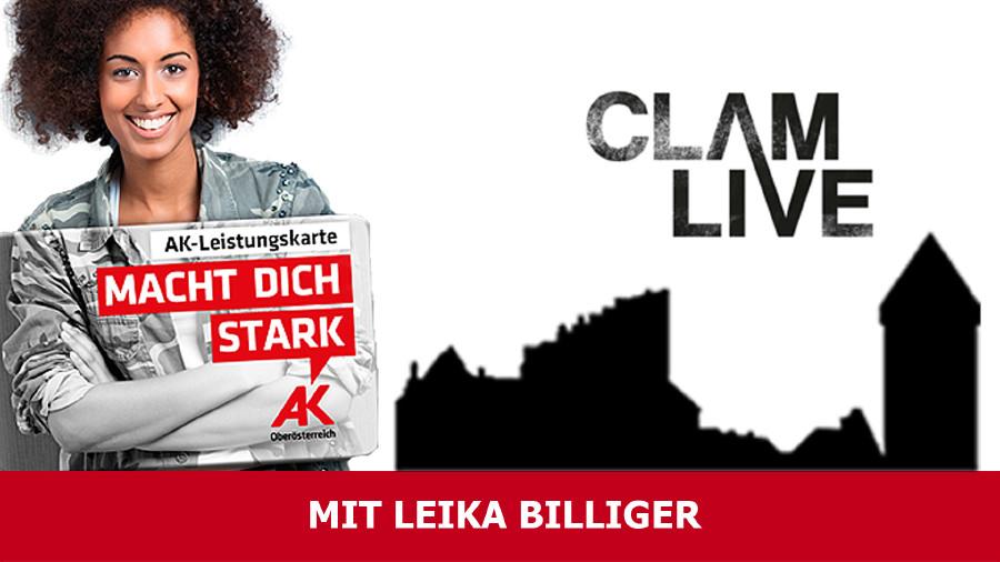 Burg Clam mit Leistungskarte billiger © AKOÖ, -
