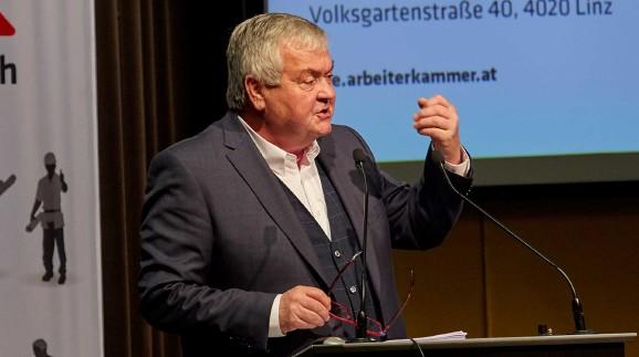 Präsident Kalliauer bei der AK Vollversammlung  ©  , AK Oberösterreich