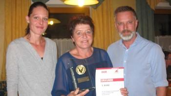 Helga Andexlinger, 1. Platz bei der Einzelwertung © AK Rohrbach