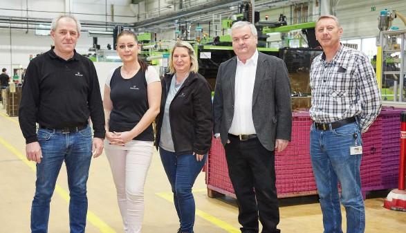 Betriebsbesuch AK-Präsident bei der Firmengruppe Dräxlmaier © AK Oberösterreich