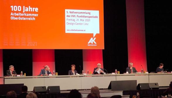 AK-Vollversammlung © Christoph Staudinger, Arbeiterkammer Oberösterreich