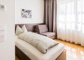 Zimmer mit Einzelbett © -, synthesa