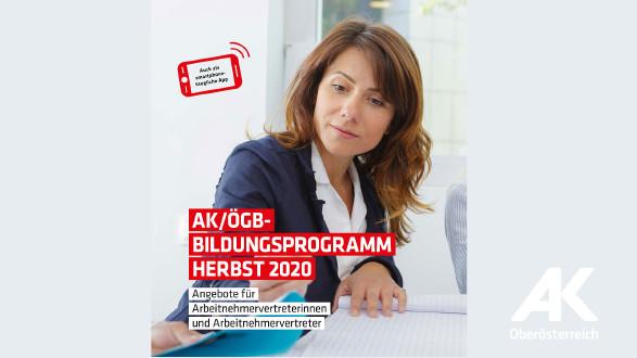 AK/ÖGB-Bildungsprogramm Herbst 2020 © -, Arbeiterkammer Oberösterreich