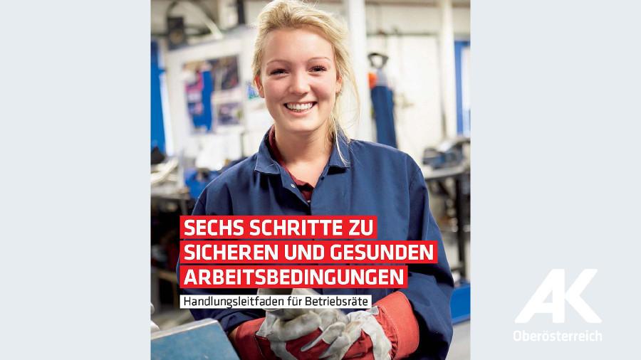Broschüre: 6 Schritte zu sicheren und gesunden Arbeitsbedingungen © -, Arbeiterkammer Oberösterreich