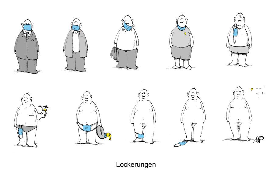 Karikatur © Michael Pammesberger, -