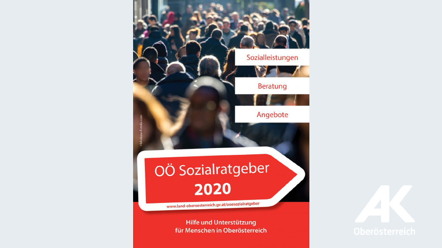 Sozialratgeber 2020 © -, Sozialplattform OÖ
